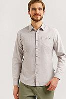 Рубашка мужская Finn Flare, цвет светло-серый, размер 3XL