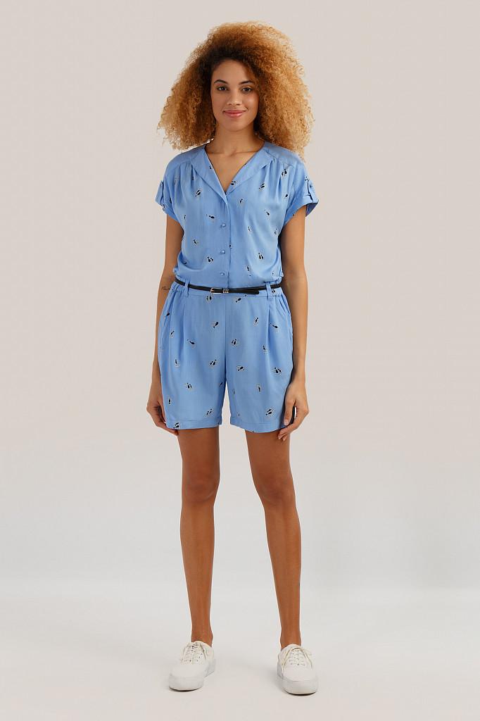 Комбинезон женский Finn Flare, цвет голубой, размер M - фото 2