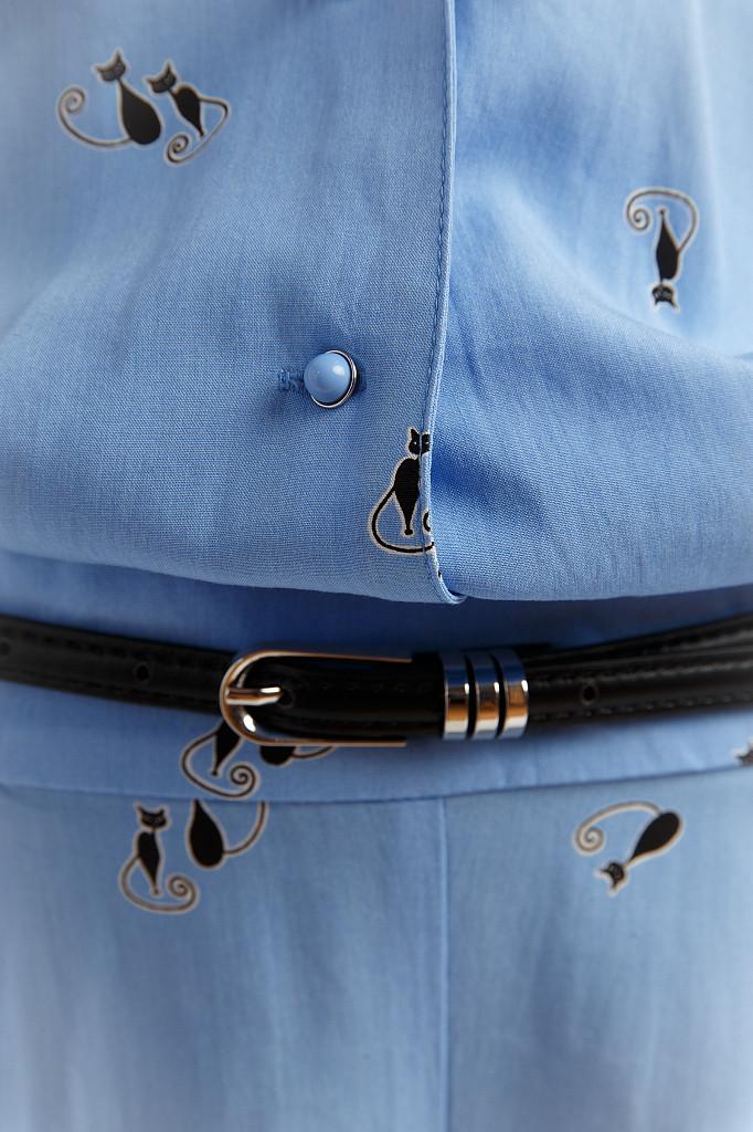 Комбинезон женский Finn Flare, цвет голубой, размер M - фото 4
