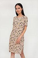 Платье женское Finn Flare, цвет бледно-розовый, размер 2XL
