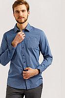 Рубашка мужская Finn Flare, цвет голубой, размер M
