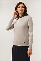 Джемпер женский Finn Flare, цвет светло-серый, размер L