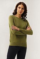 Джемпер женский Finn Flare, цвет aloe (светло-зеленый), размер XS