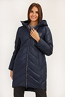 Пальто женское Finn Flare, цвет темно-синий, размер L