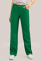 Брюки женские Finn Flare, цвет зеленый, размер 2XL