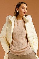 Полупальто женское Finn Flare, цвет молочный, размер 4XL