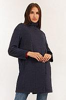 Пальто женское Finn Flare, цвет темно-синий, размер M