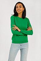 Джемпер женский Finn Flare, цвет светло-зеленый, размер XL