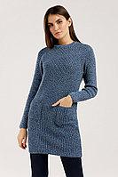 Платье женское Finn Flare, цвет серо-голубой, размер XS
