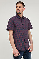 Рубашка мужская Finn Flare, цвет темно-синий, размер 3XL