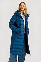 Пальто женское Finn Flare, цвет зеленовато-голубой, размер S