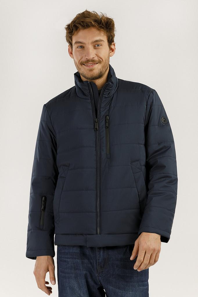 Куртка мужская Finn Flare, цвет темно-синий, размер L - фото 1