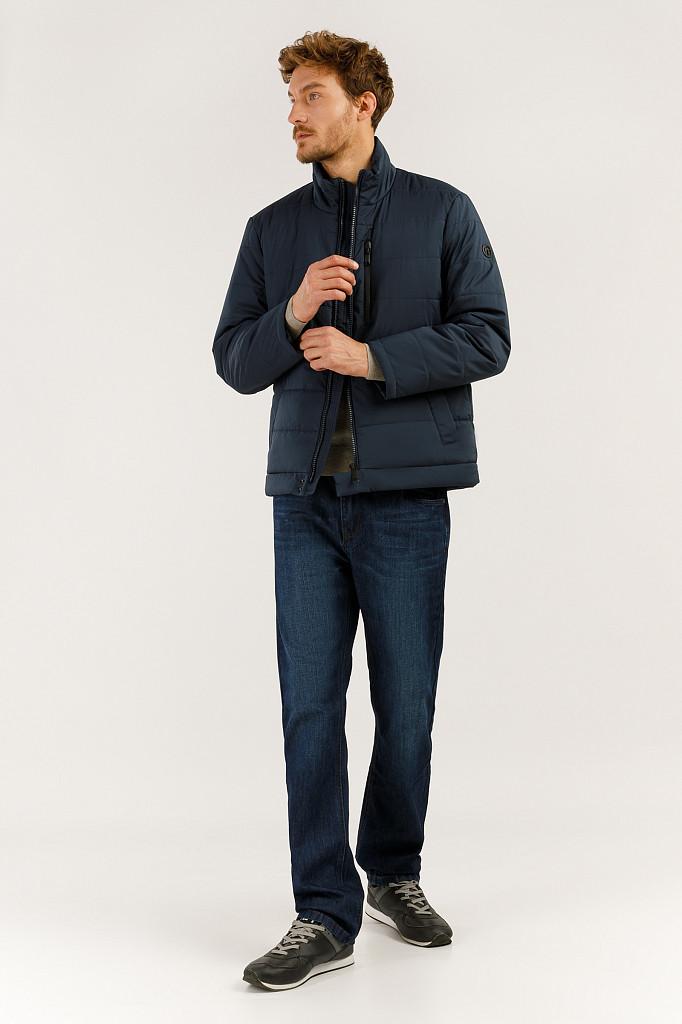 Куртка мужская Finn Flare, цвет темно-синий, размер L - фото 2