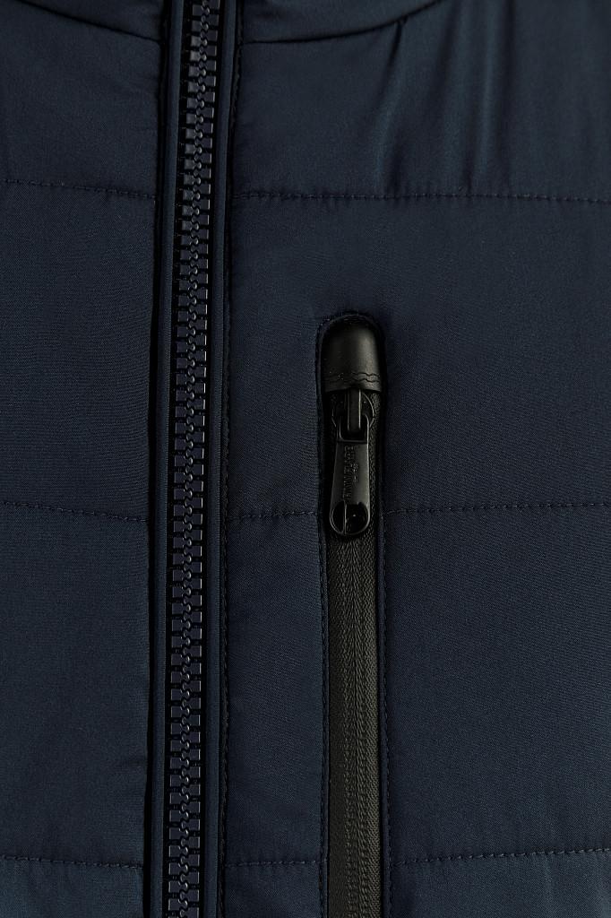 Куртка мужская Finn Flare, цвет темно-синий, размер L - фото 5