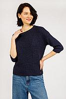 Джемпер женский Finn Flare, цвет темно-синий, размер 2XL