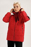 Куртка женская Finn Flare, цвет красный, размер 2XL