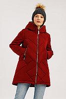 Куртка женская Finn Flare, цвет гранатовый, размер 3XL