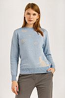 Джемпер женский Finn Flare, цвет серо-голубой, размер XL