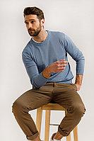 Джемпер мужской Finn Flare, цвет голубой, размер 3XL