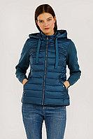 Куртка женская Finn Flare, цвет зеленовато-голубой, размер S
