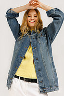 Куртка женская Finn Flare, цвет синий, размер M