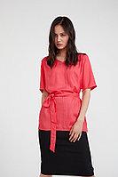 Блузка женская Finn Flare, цвет розовый, размер XL