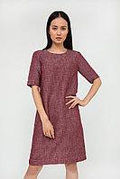 Платье женское Finn Flare, цвет темно-бордовый, размер L