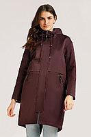 Пальто женское Finn Flare, цвет вишневый, размер XL