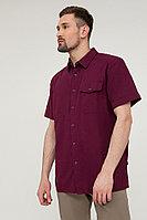 Рубашка мужская Finn Flare, цвет бордовый, размер M