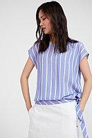Блузка женская Finn Flare, цвет голубой, размер XL