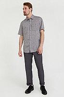 Рубашка мужская Finn Flare, цвет темно-серый, размер 3XL