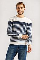 Джемпер мужской Finn Flare, цвет белый, размер 2XL