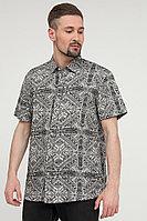 Рубашка мужская Finn Flare, цвет светло-серый, размер M