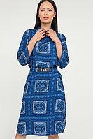 Платье женское Finn Flare, цвет темно-синий, размер XL