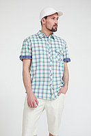 Рубашка мужская Finn Flare, цвет светло-зеленый, размер 3XL
