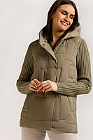 Куртка женская Finn Flare, цвет светло-коричневый, размер 2XL