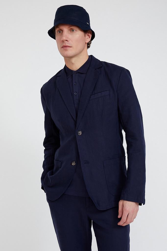 Пиджак мужской Finn Flare, цвет темно-синий, размер 3XL - фото 1