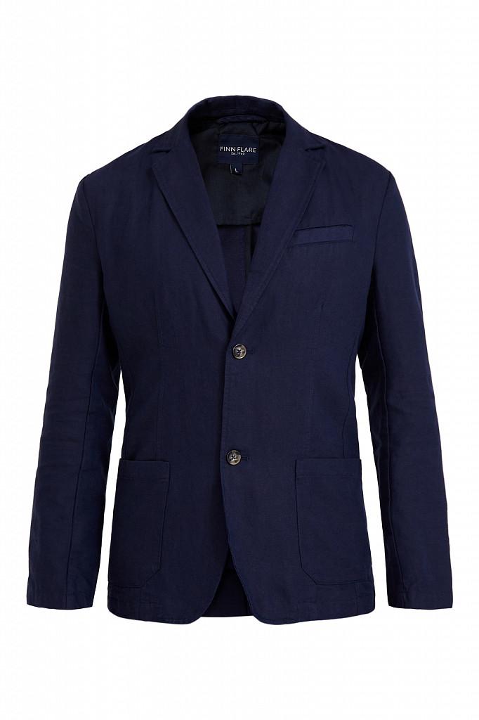 Пиджак мужской Finn Flare, цвет темно-синий, размер 3XL - фото 5