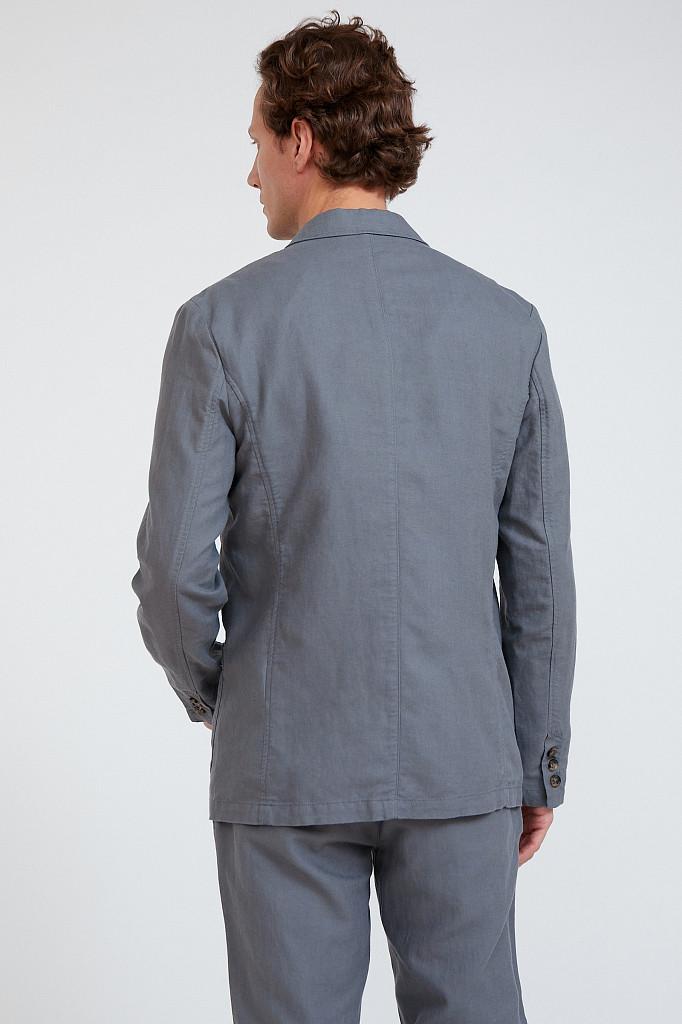 Пиджак мужской Finn Flare, цвет серый, размер L - фото 4