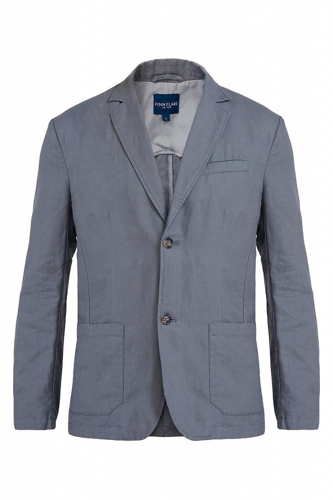 Пиджак мужской Finn Flare, цвет серый, размер L - фото 6