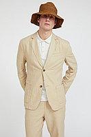 Пиджак мужской Finn Flare, цвет песочный, размер S