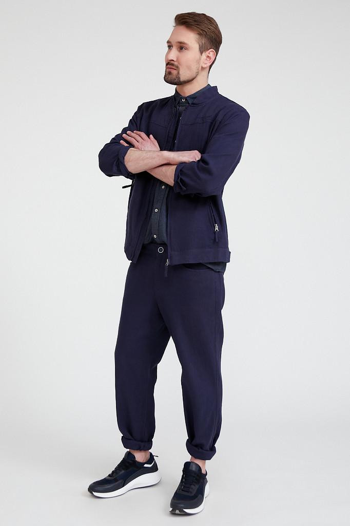 Ветровка мужская Finn Flare, цвет темно-синий, размер M - фото 2
