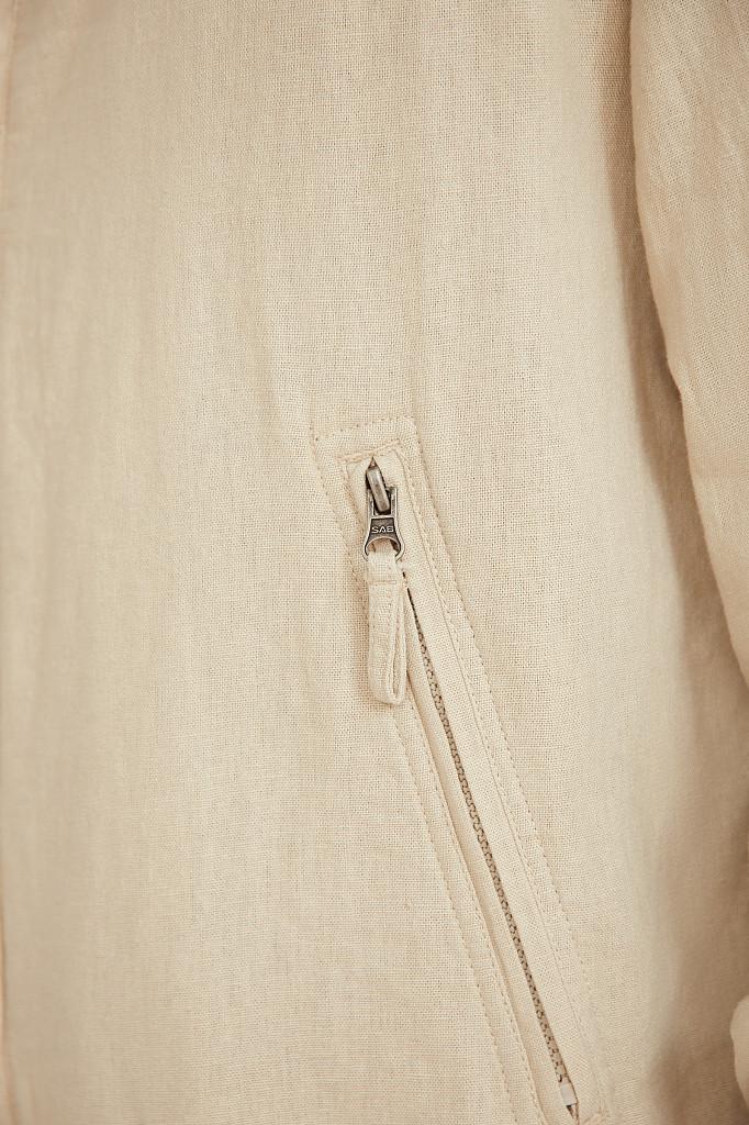 Ветровка мужская Finn Flare, цвет молочно-серый , размер S - фото 5