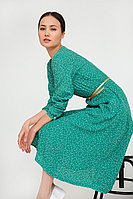 Платье женское Finn Flare, цвет зеленый, размер 2XL