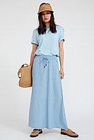 Юбка женская Finn Flare, цвет серо-голубой, размер 2XL