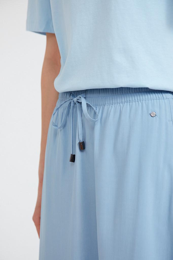 Юбка женская Finn Flare, цвет серо-голубой, размер M - фото 5
