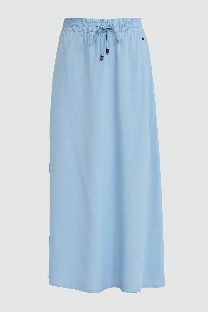 Юбка женская Finn Flare, цвет серо-голубой, размер M - фото 6