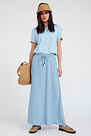 Юбка женская Finn Flare, цвет серо-голубой, размер XL