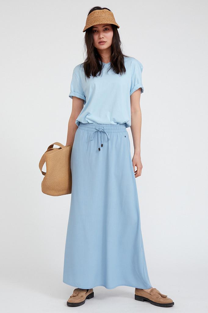 Юбка женская Finn Flare, цвет серо-голубой, размер XL - фото 1