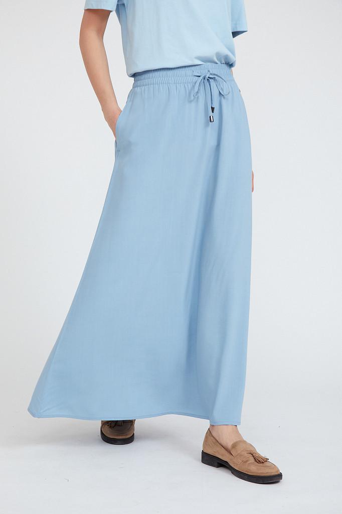 Юбка женская Finn Flare, цвет серо-голубой, размер L - фото 3